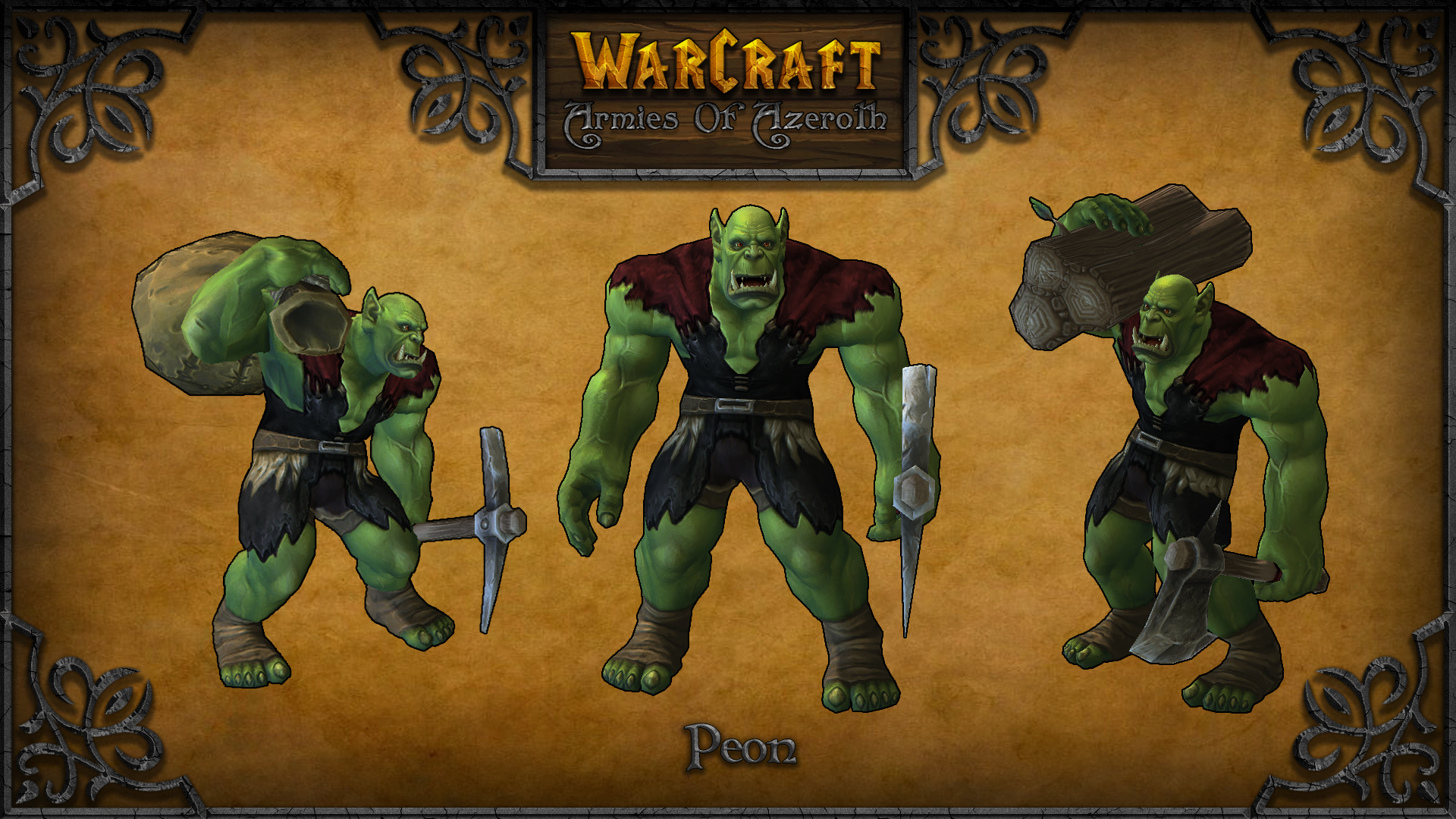 Peon Image Warcraft Armies Of Azeroth Mod For Starcraft Ii