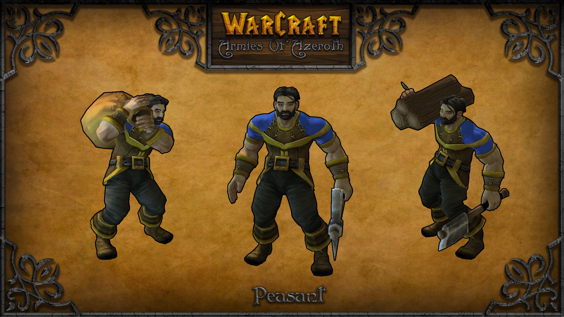 Peasant Model Image Warcraft Armies Of Azeroth Mod For