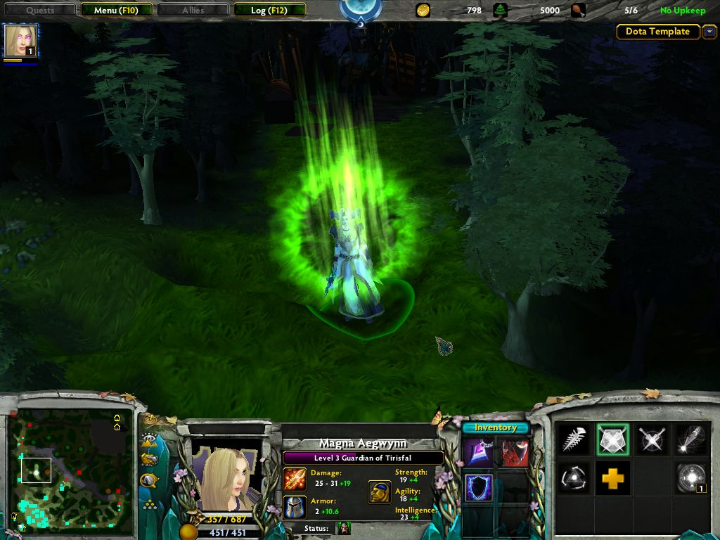 new hero magna aegwynn image dota the realm of heroes mod for