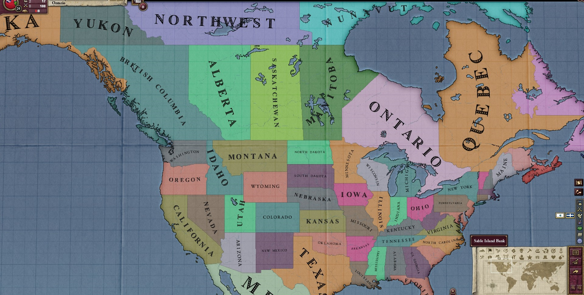 Victoria 2 States Map.The States Of North America Mod For Victoria Ii Mod Db