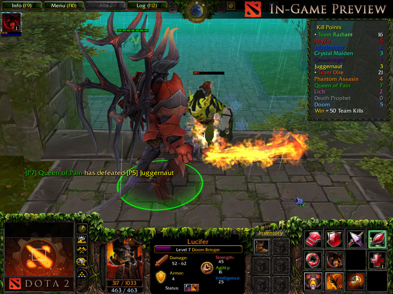Lucifer, the Doom Preview image - Dota 2: Heroes Clash mod ...