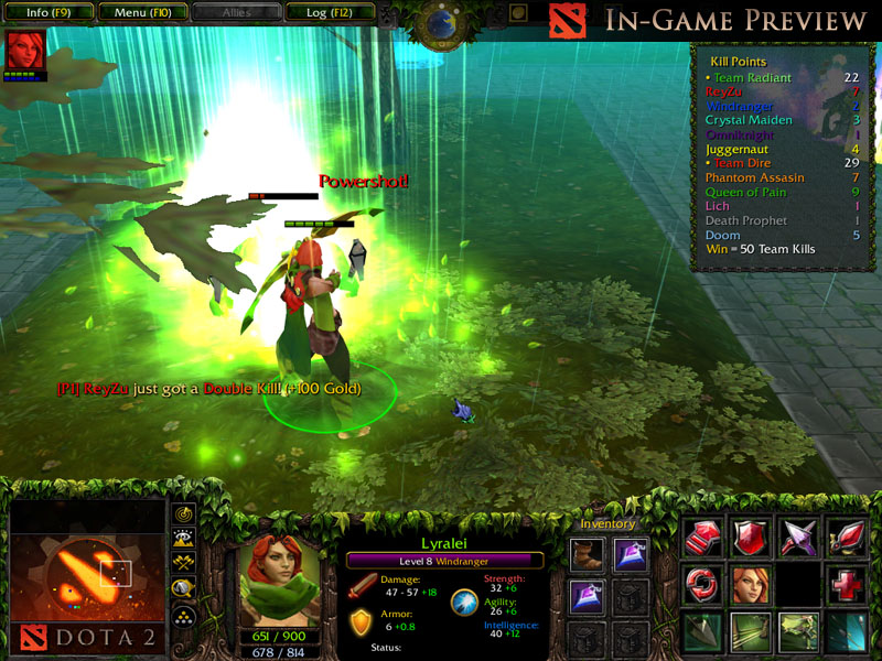 lyralei the windranger preview image dota 2 heroes clash mod