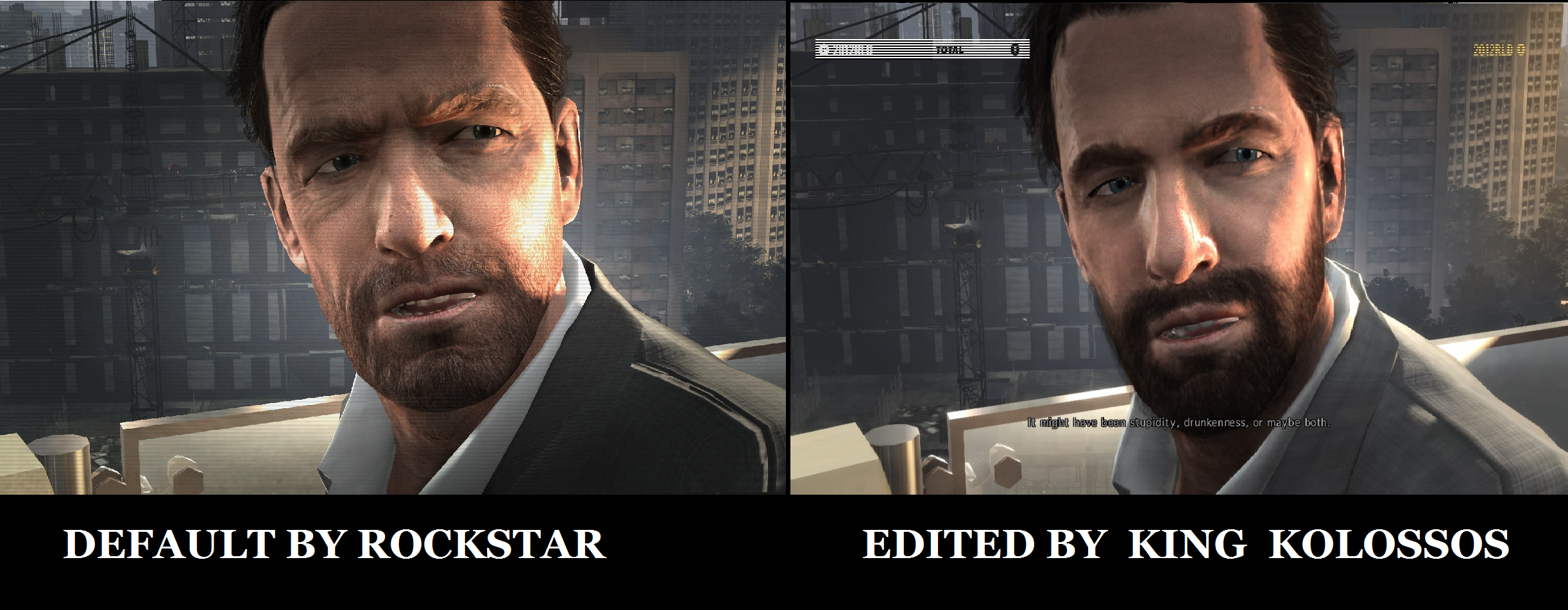 Another Comparison Image Max Payne 3 King Kolossos Face