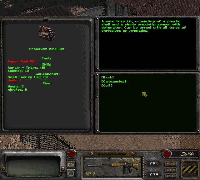 Fallout 2 Global Mod Описание