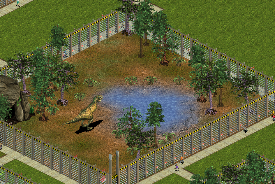 No Grass, Please! mod for Zoo Tycoon: Dinosaur Digs - Mod DB