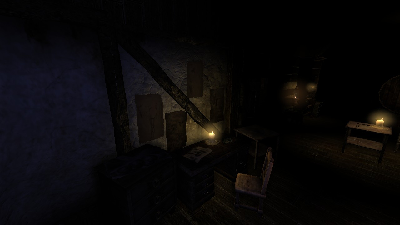 The Attic Image The Poet Amnesia Custom Story Mod For