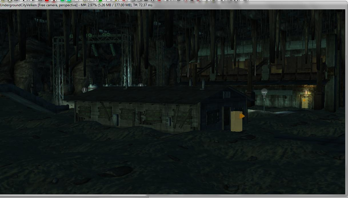 Underground City [WIP] mod for Fallout: New Vegas - Mod DB
