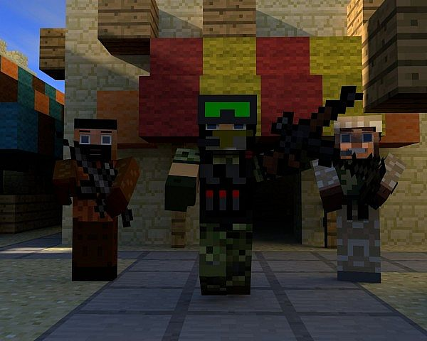 The Great War (Single/coop shooter) mod for Minecraft - Mod DB
