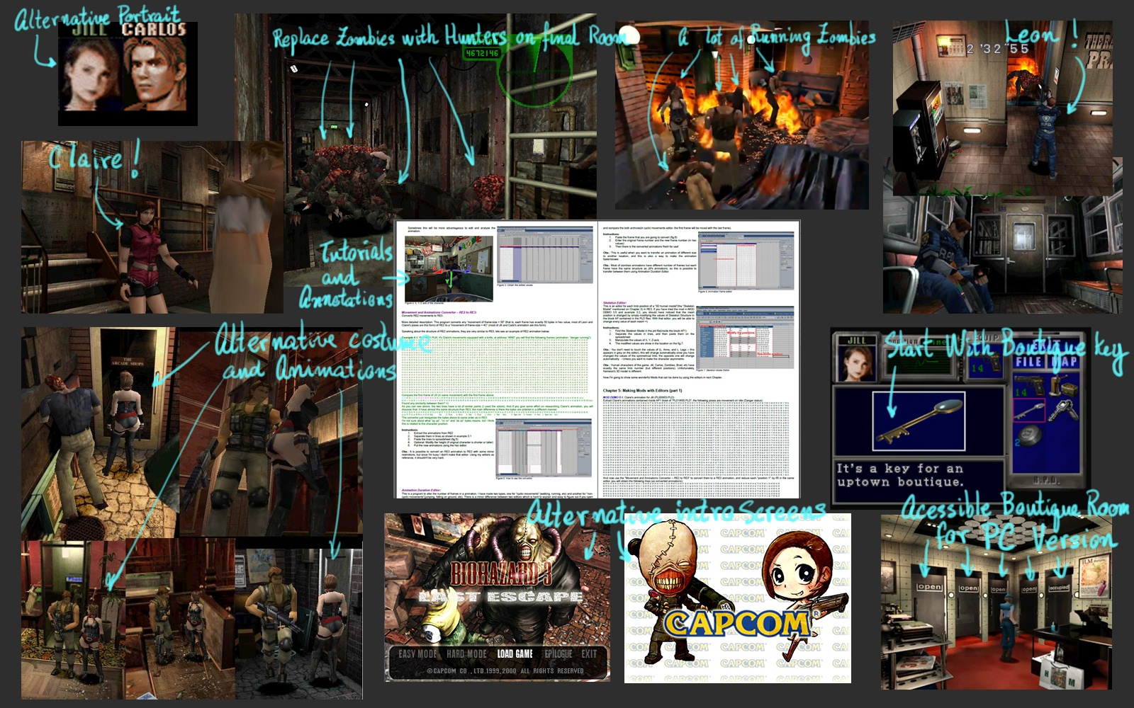 Resident Evil 3 Restoration Patch: a patch that brings in every PC