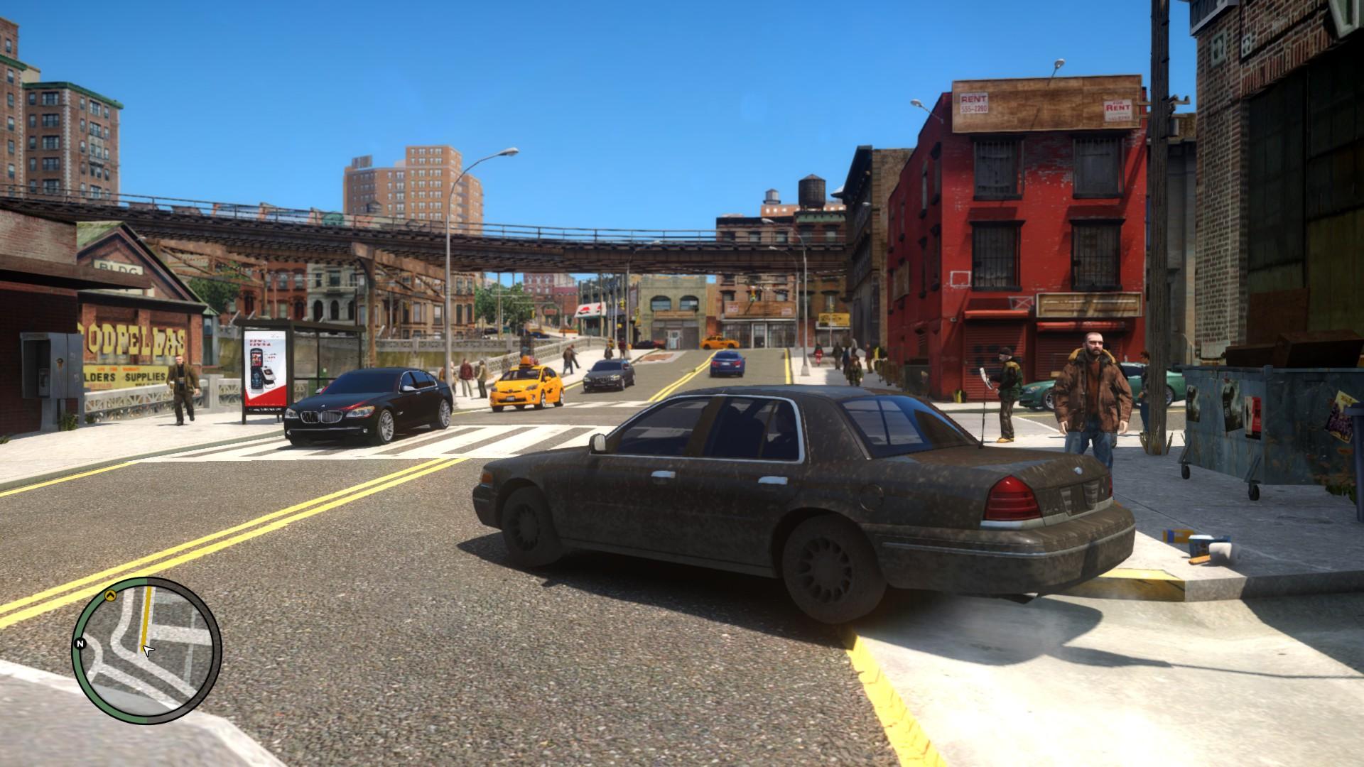 gameplay_screeshot_2 image - GRAND THEFT AUTO IV REDUX mod ...