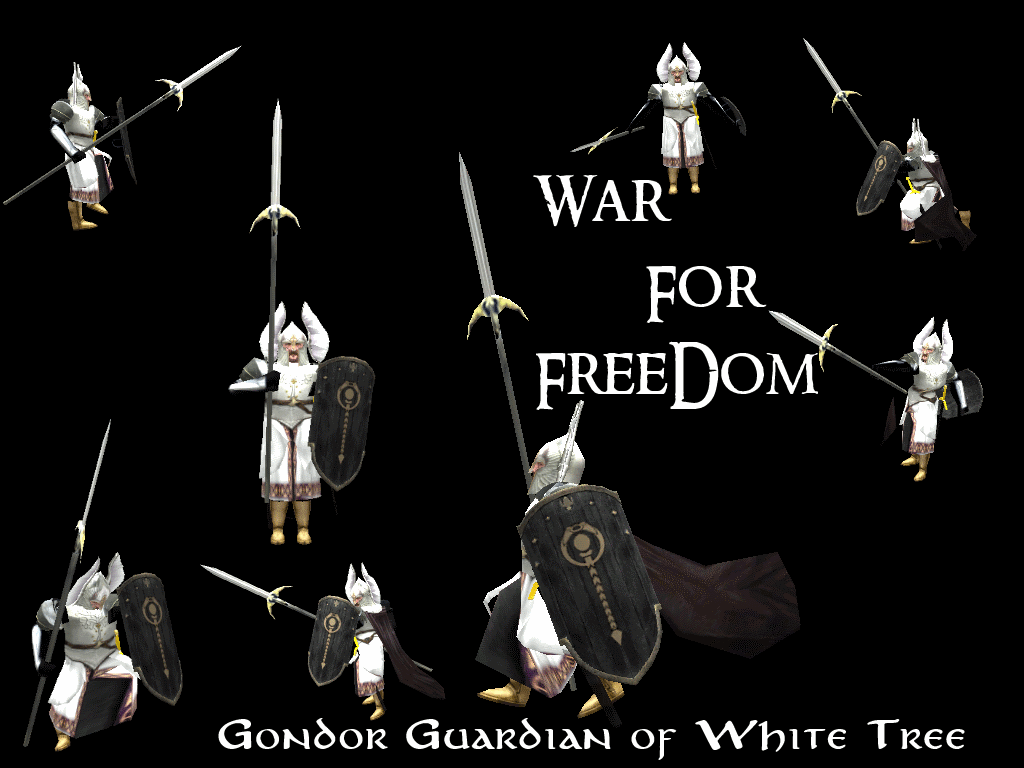 Gondor White Tree Guard Image The War For Freedom Mod For Battle