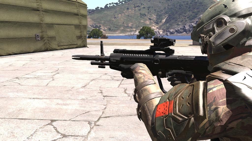 little teaser, in game DMR image - Operation: TREBUCHET mod for ARMA