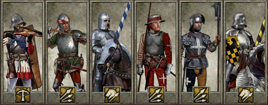 Mercenary Unit Cards image - Medieval Kingdoms Total War ...  Mercenary Unit ...