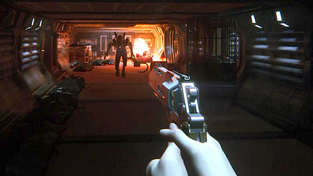 Inifinate 9mm pistol Incendiary mod for Alien Isolation
