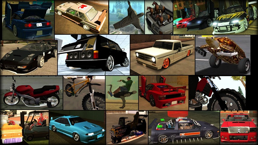 Tuning Mod v1 1 by Junior_Djjr for Grand Theft Auto: San Andreas