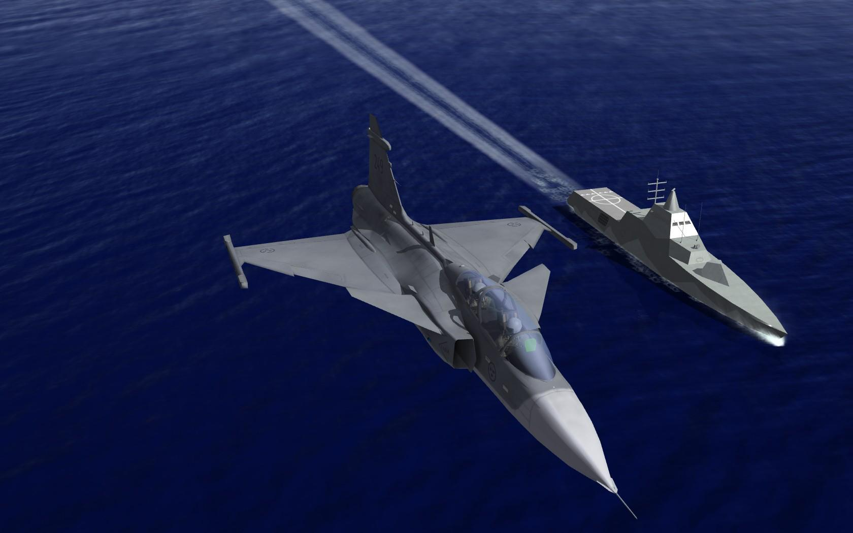 The Scandinavian Front 2 mod for Strike Fighters 2: Europe