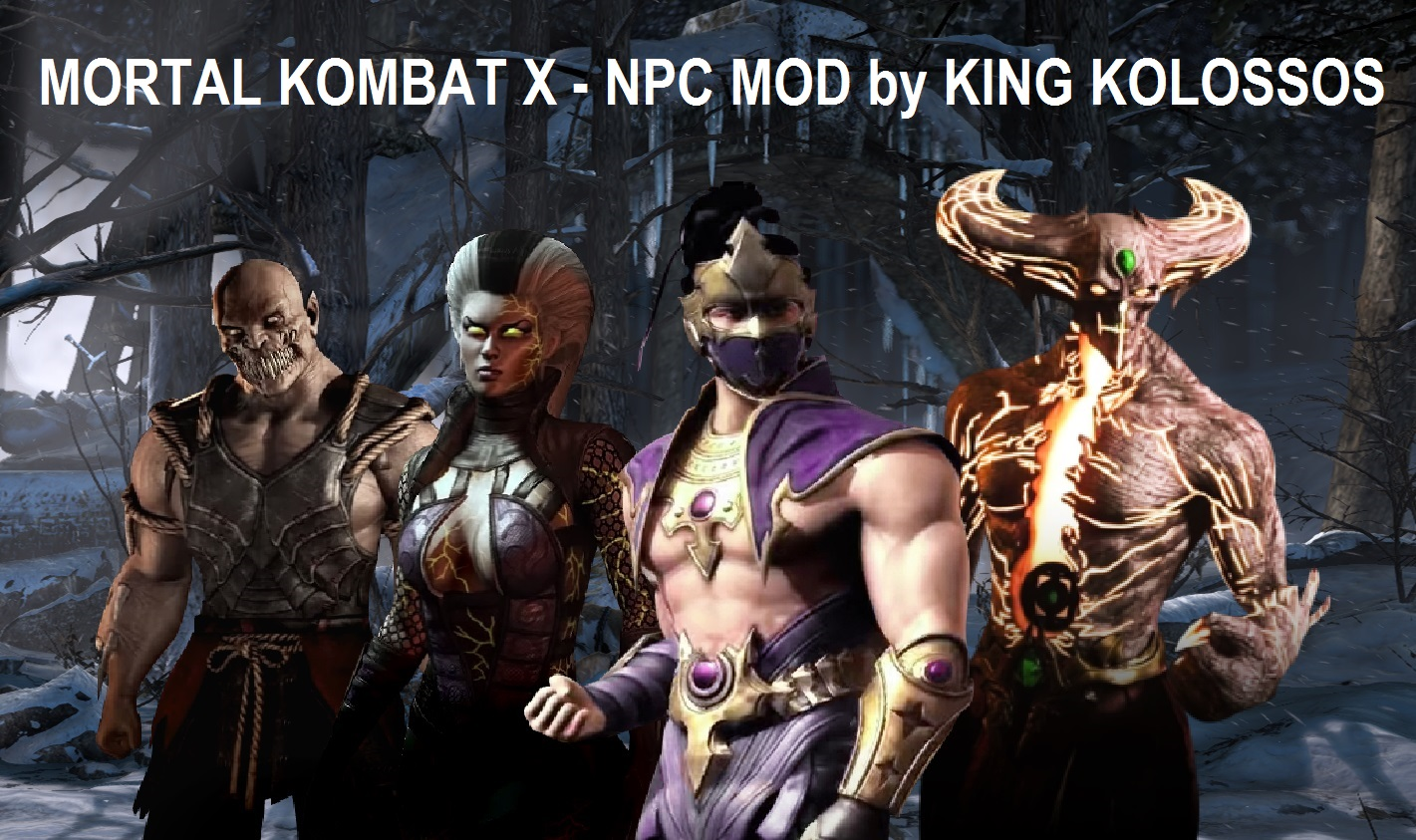 Wallpaper Image Mortal Kombat X Npc Unlocker Mod Outdated