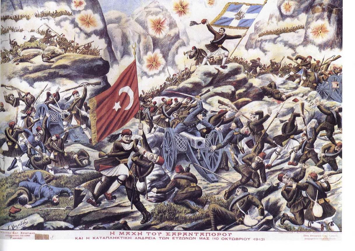 first balkan war summary