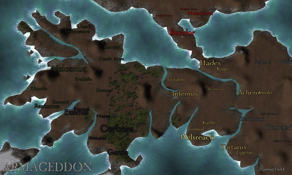 Карта на вар 3 армагеддон