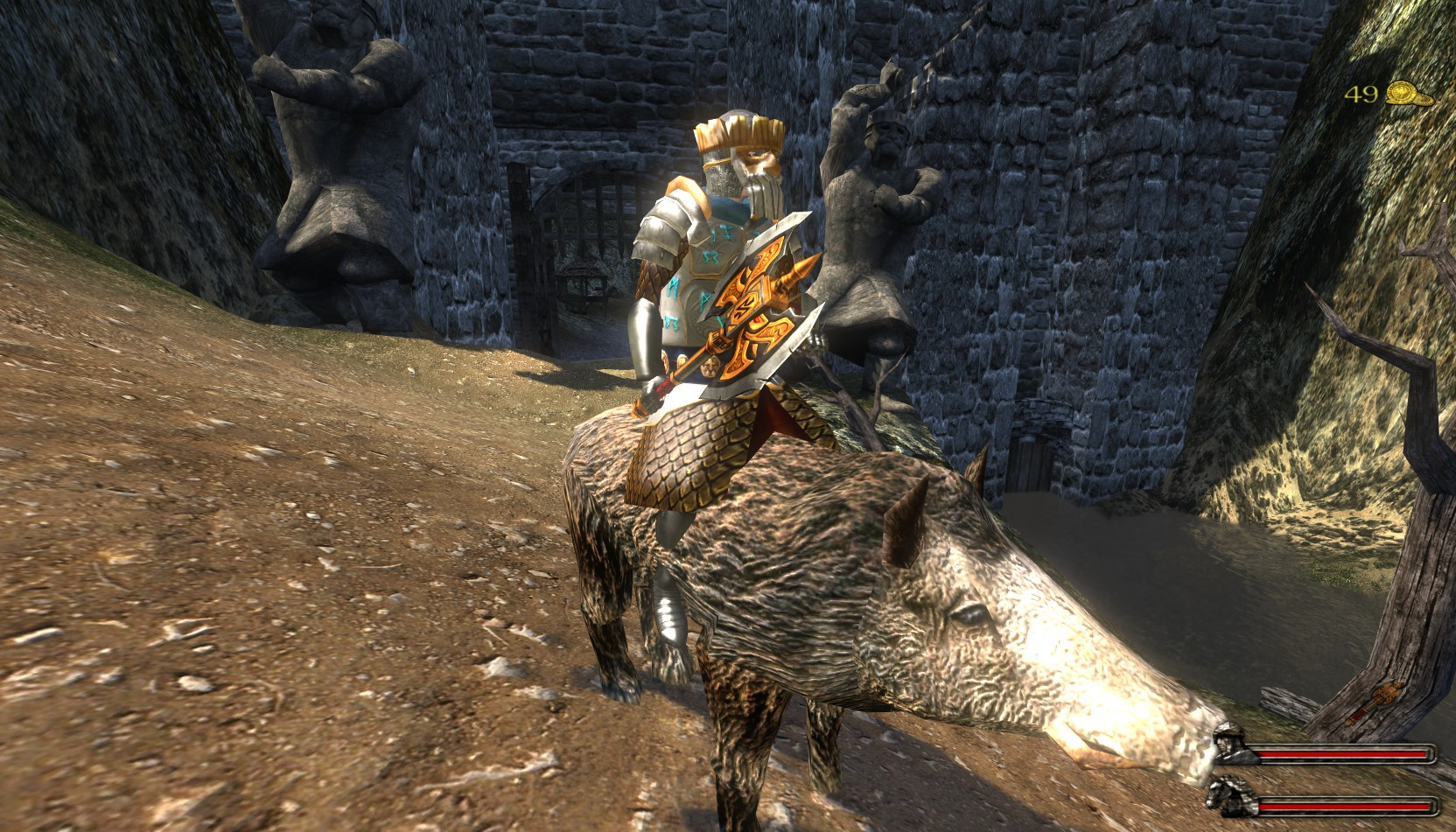 Arena near Erebor and Warhog image  Persistent Lord of the