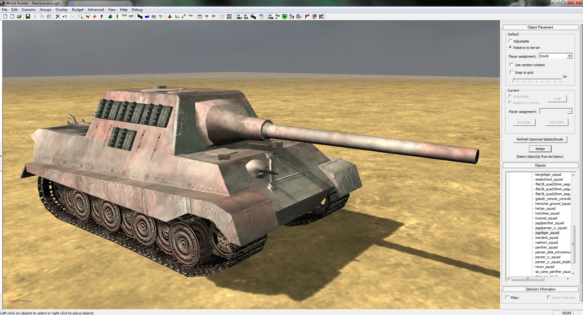 Jagdtiger Red Earth Dust Skin Image Coh Far Eastern Blitzkrieg Front Mod Fusion For Company Of Heroes Mod Db