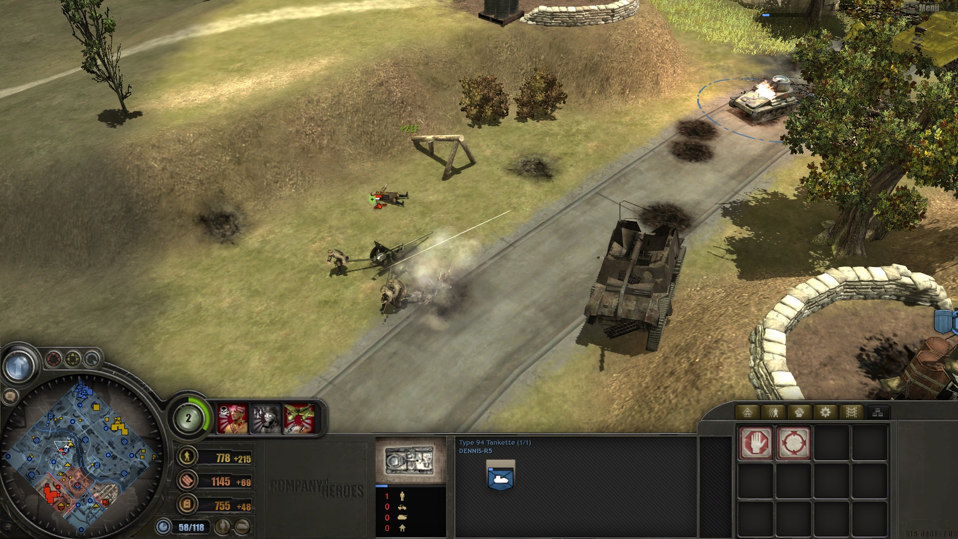 Japan Type 94 Fights Against Russian Zis 2 Image Coh Far Eastern Blitzkrieg Front Mod Fusion For Company Of Heroes Mod Db