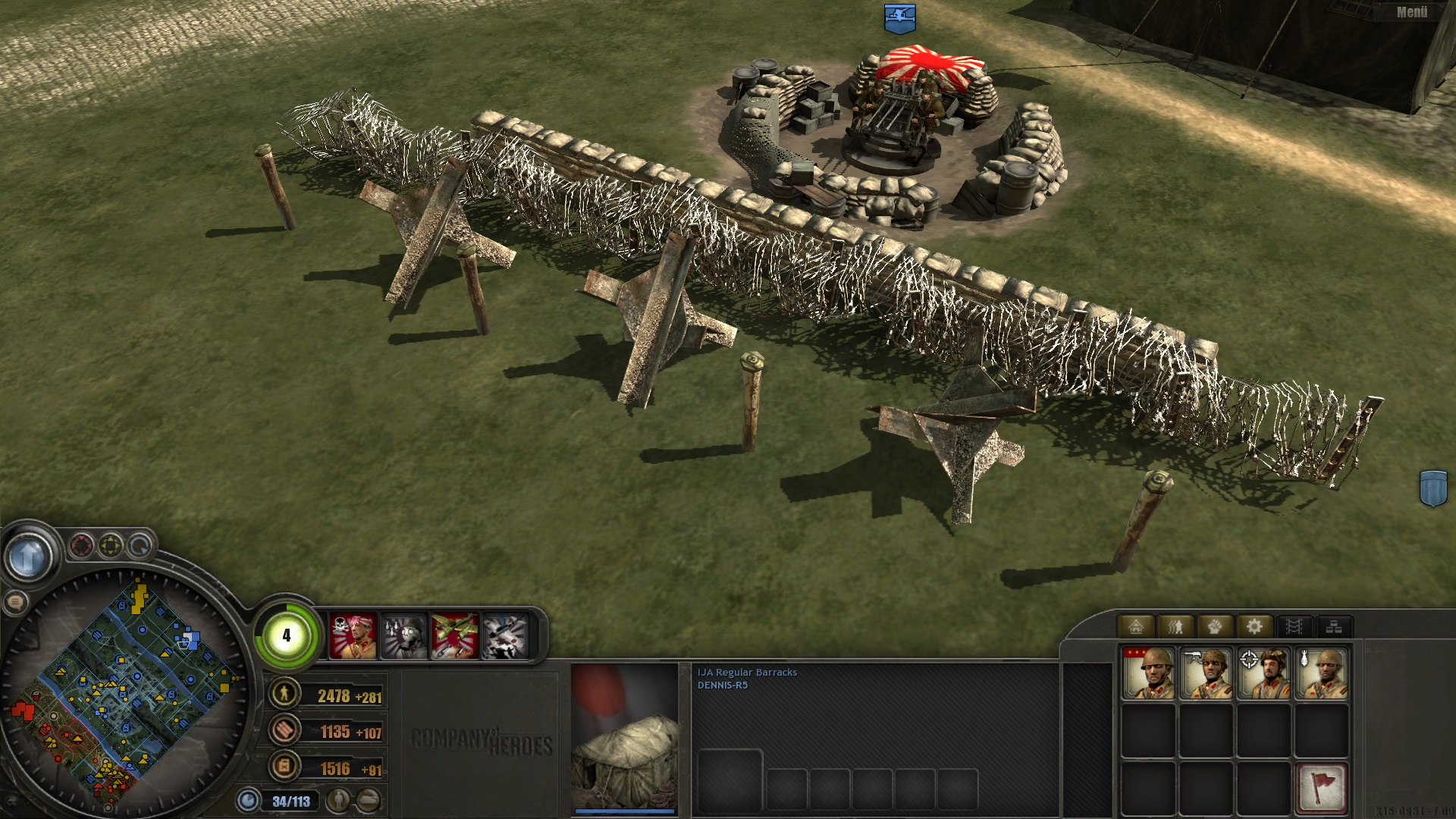 Japanese Defense Image Coh Far Eastern Blitzkrieg Front Mod Fusion For Company Of Heroes Mod Db