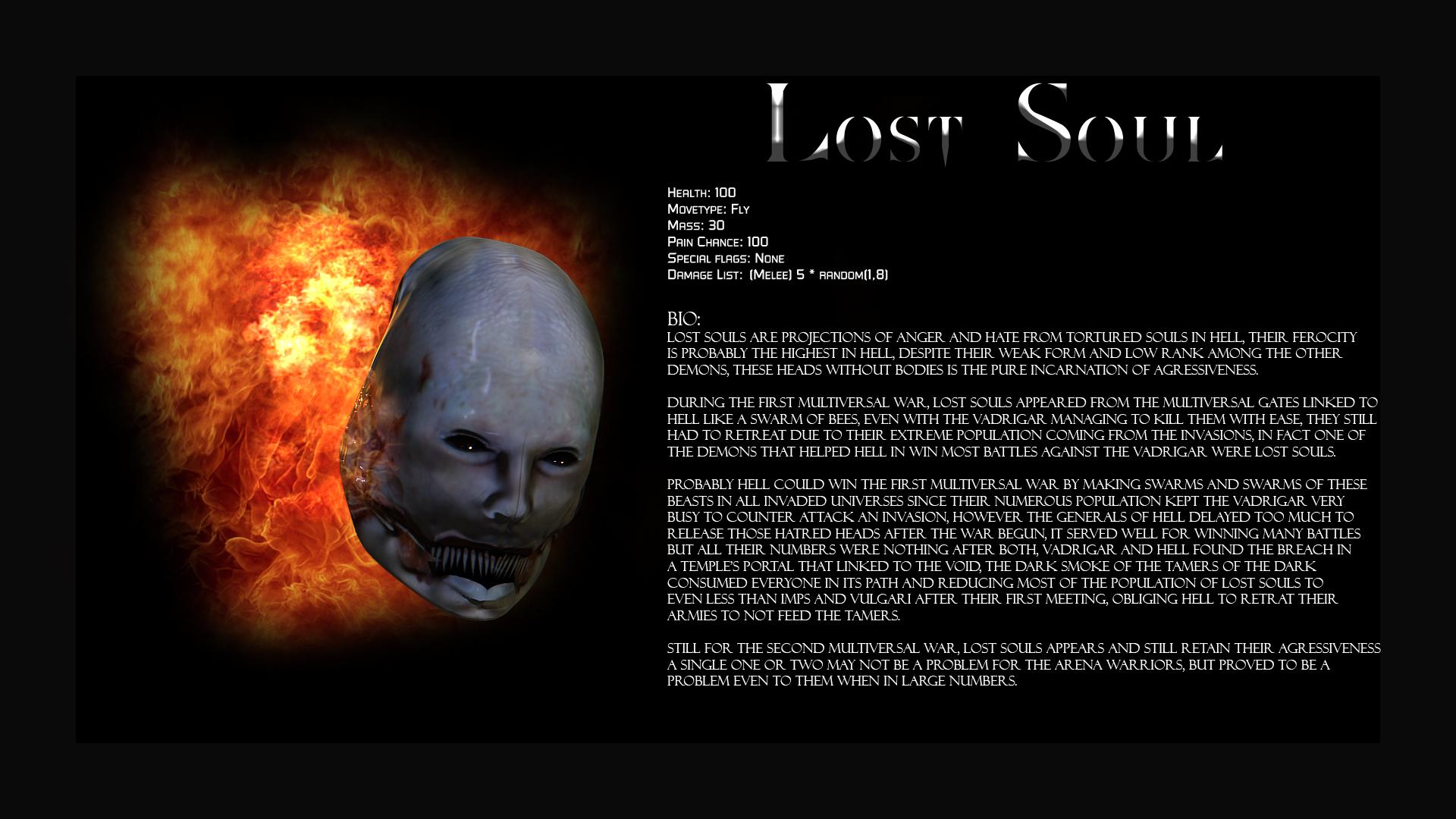 Lost Soul Doom Deviantart: Hunter's Moon Mod For Doom
