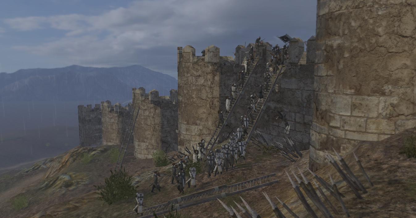 mount and blade warband how to get a castle