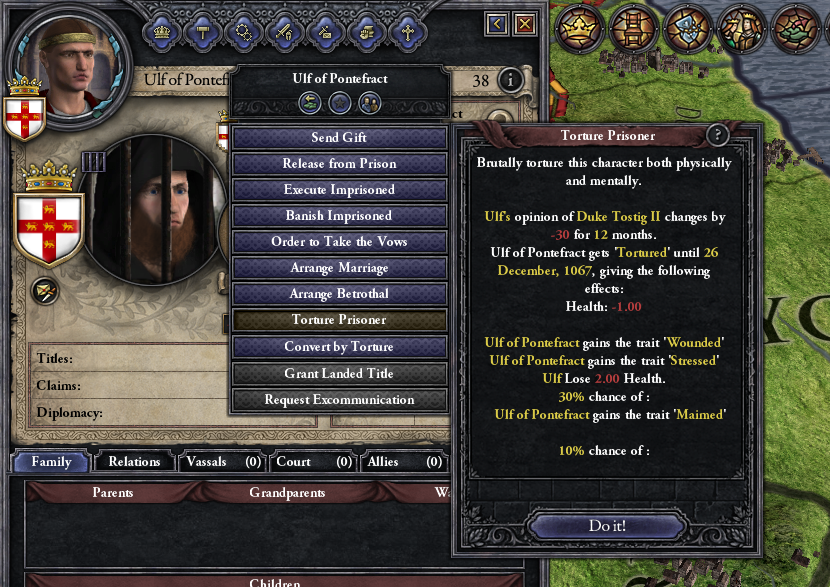 Underhanded Tactics - Torture, rape and adultery mod for