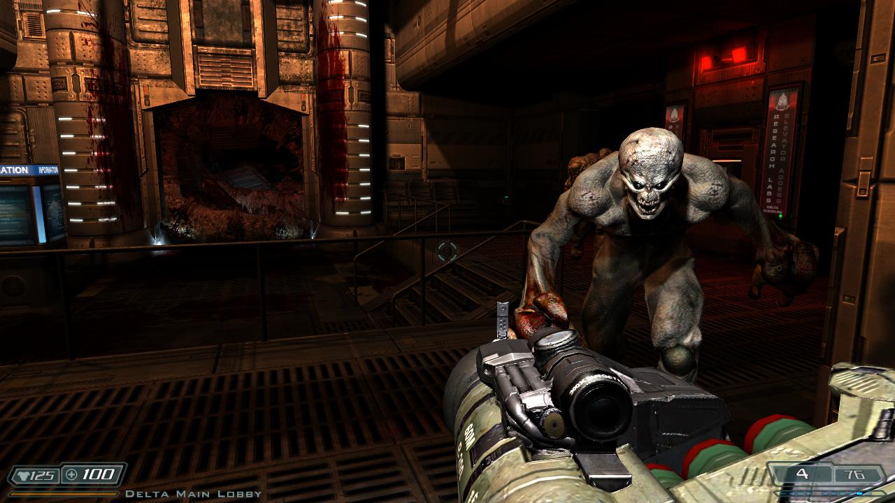 Doom 3 BFG HiDef Mod 2 2 and several mods - Doom 3 - Doomworld