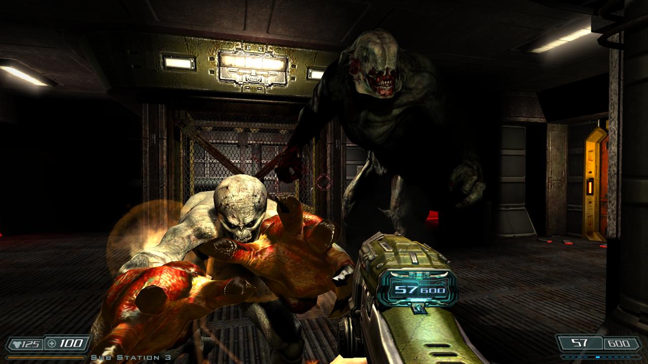 Doom 3 как сделать на весь экран