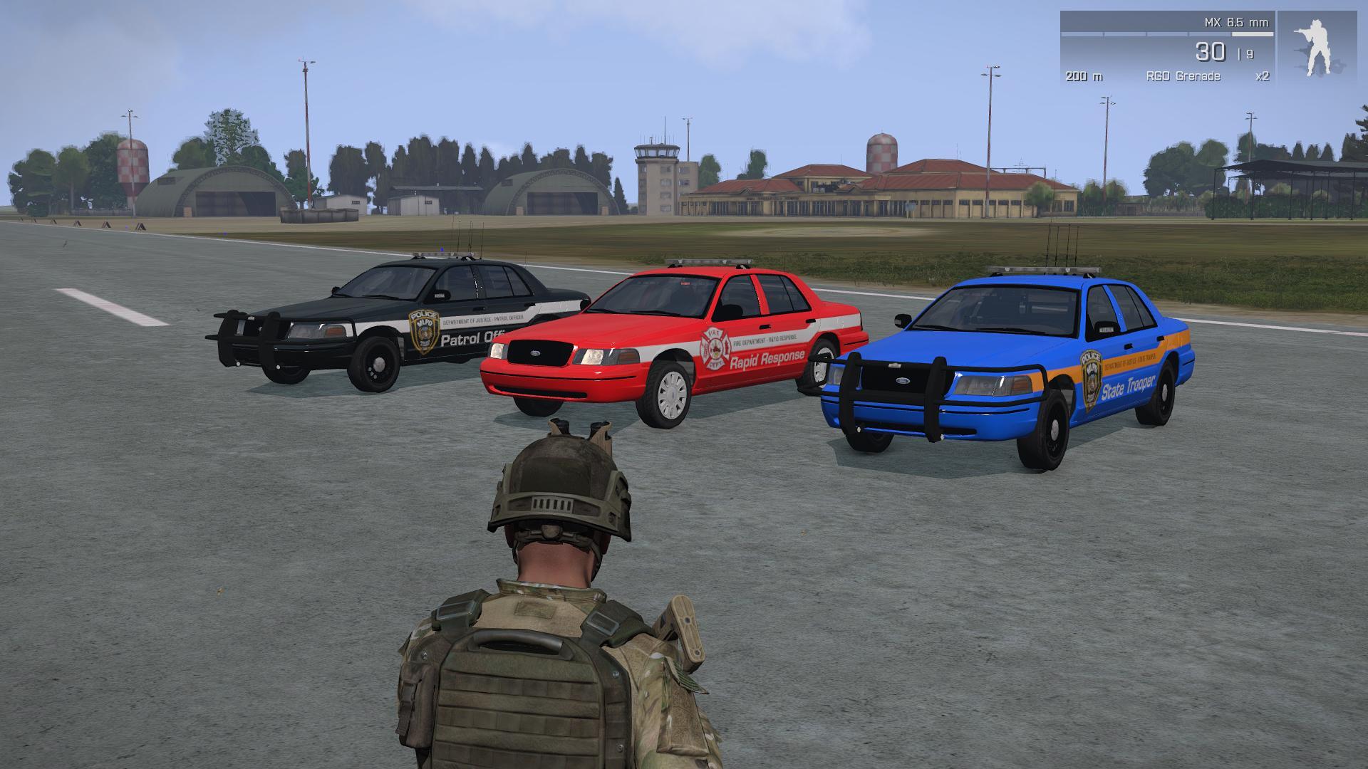 Some Emergency Vehicles! image - Mafia Life RPG mod for ARMA 3 - Mod DB