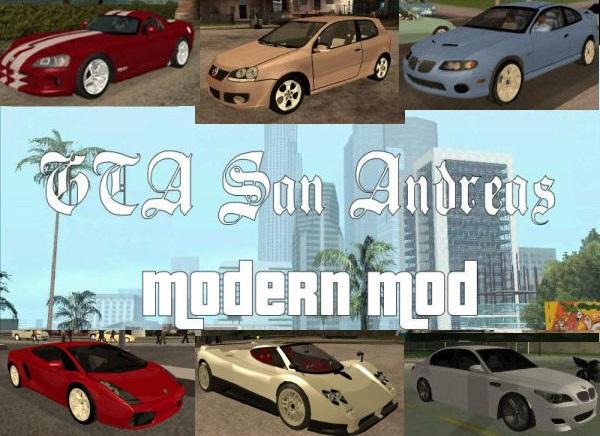 San Andreas Modern Mod 06 - Mod DB