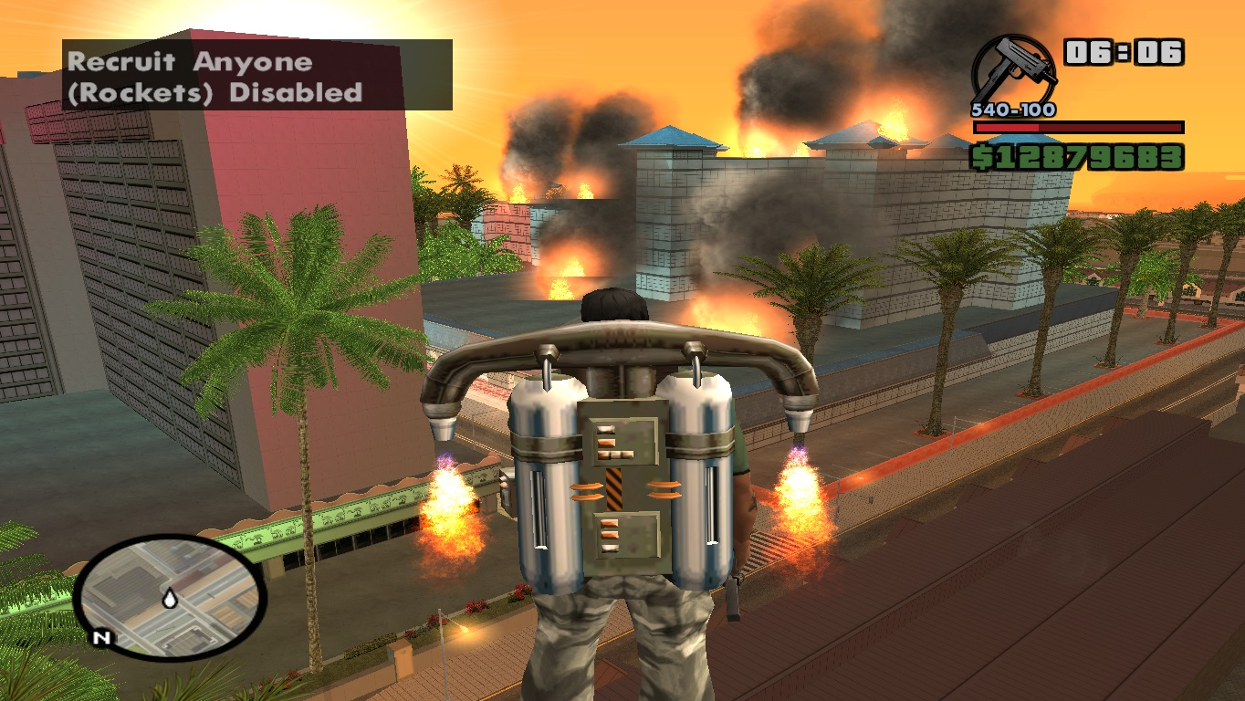 Release Of Gta Sa Modern Mod 06 News Mod Db