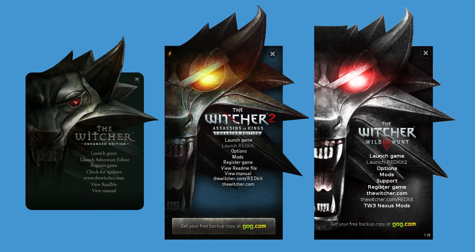 Home Design Games Ios The Witcher 3 Wild Hunt Unofficial Launcher Mod Mod Db