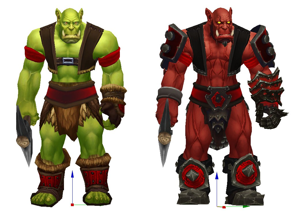 Peon Chaos And Normal Image Warcraft 3 Reborn Mod For Warcraft