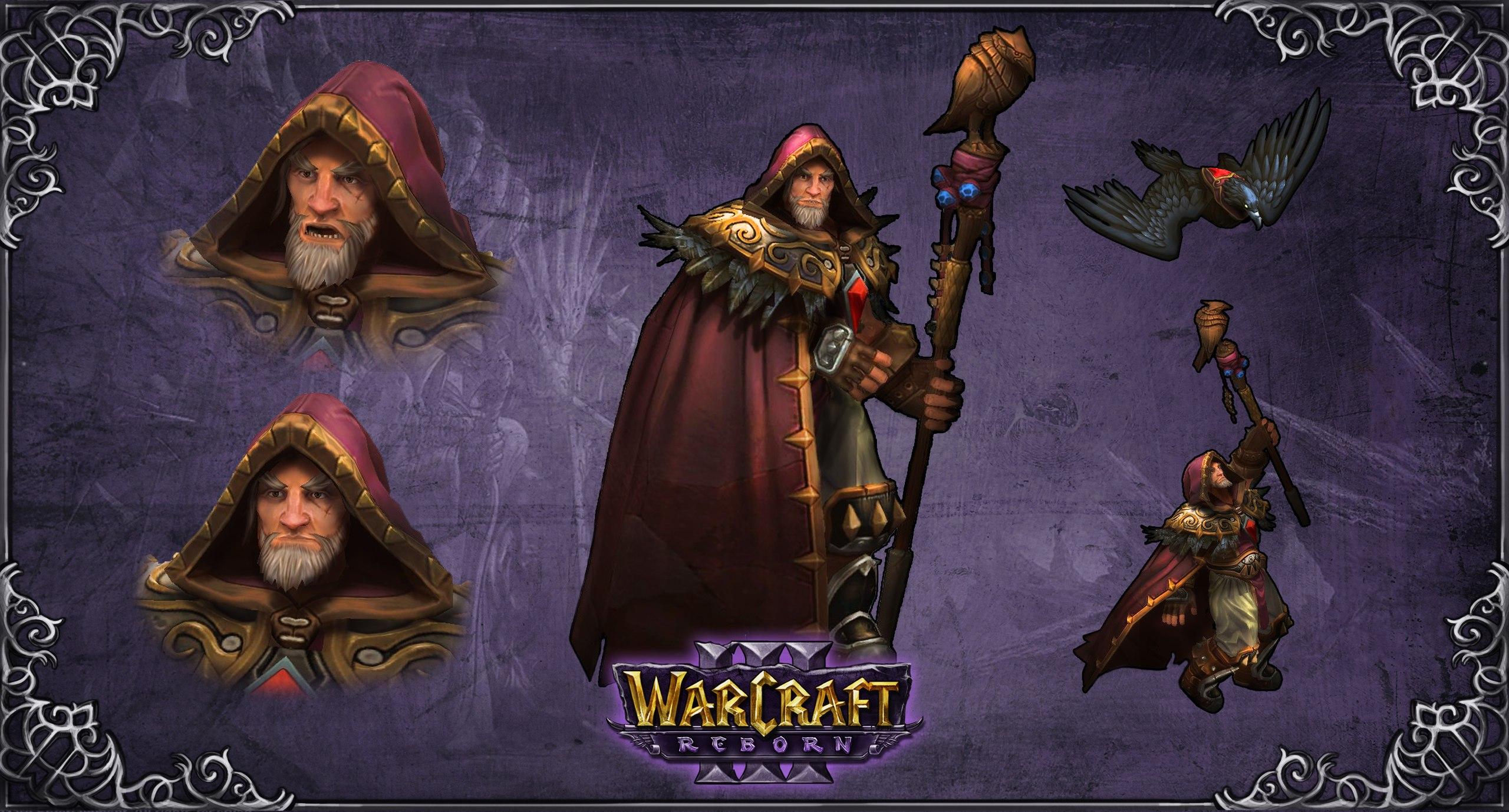 Medivh image - Warcraft 3 - Reborn mod for Warcraft III ...