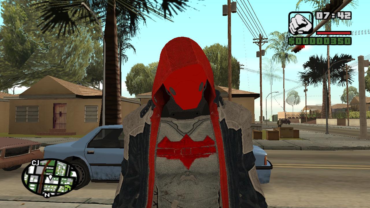 Batman XE Suit from Arkham Origins for GTA San Andreas