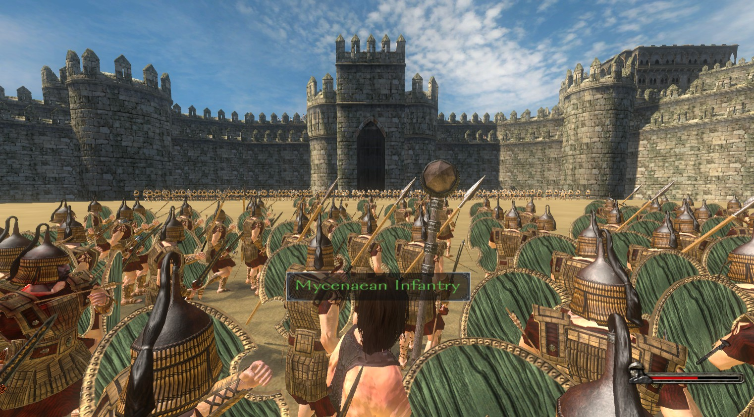 attack on troys walls image the trojan war mod for