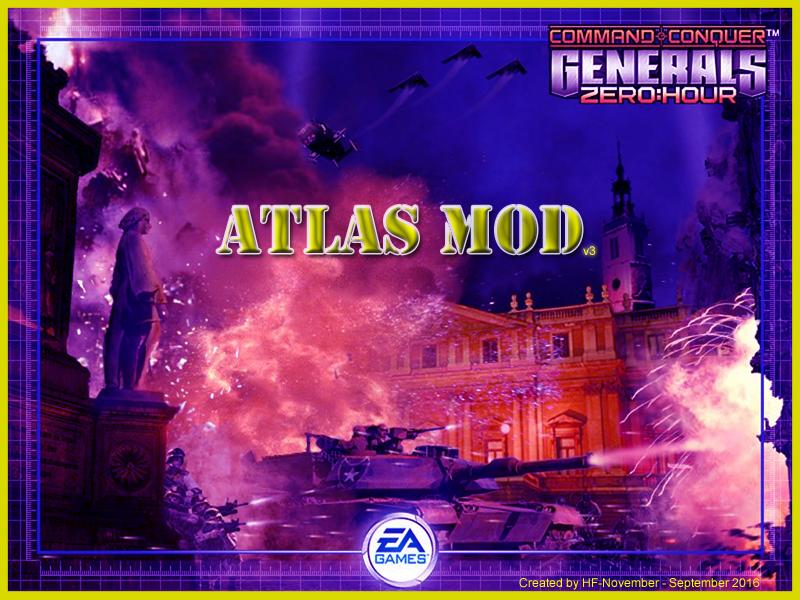 Atlas Mod for C&C: Generals Zero Hour - Mod DB