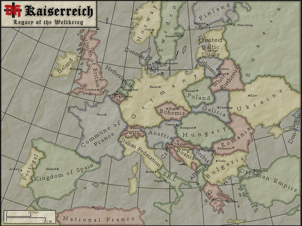 Kaiserreich: Legacy of the Weltkrieg mod for Darkest Hour