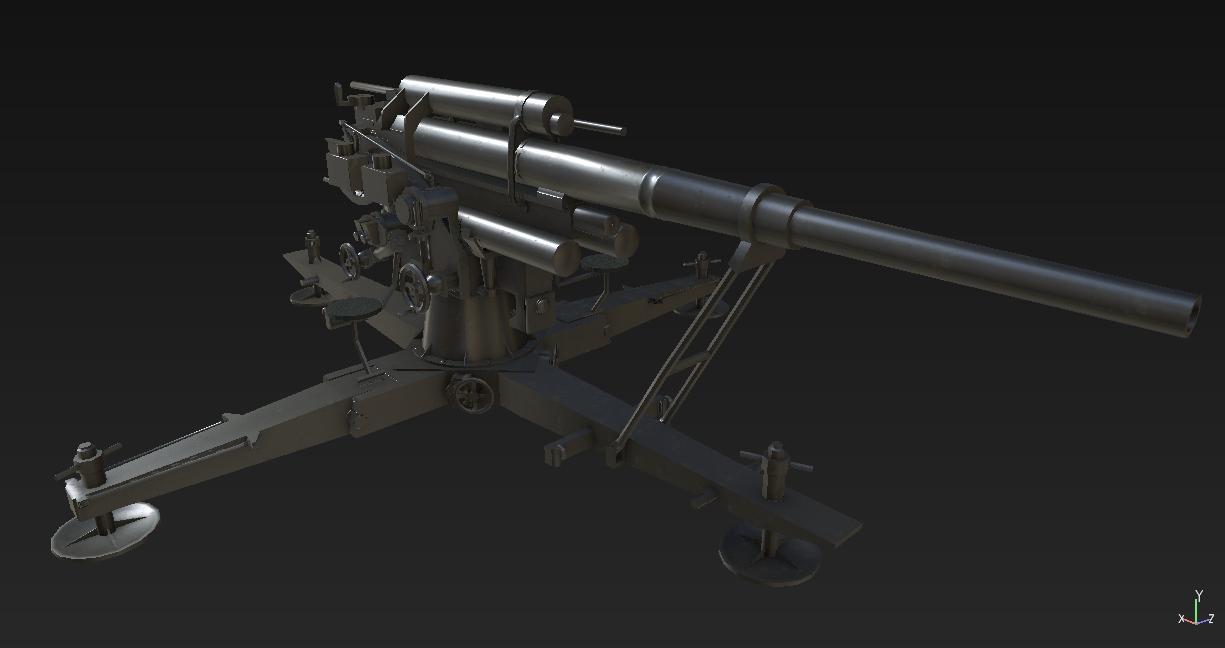Resultado de imagen de arma 3 flak88