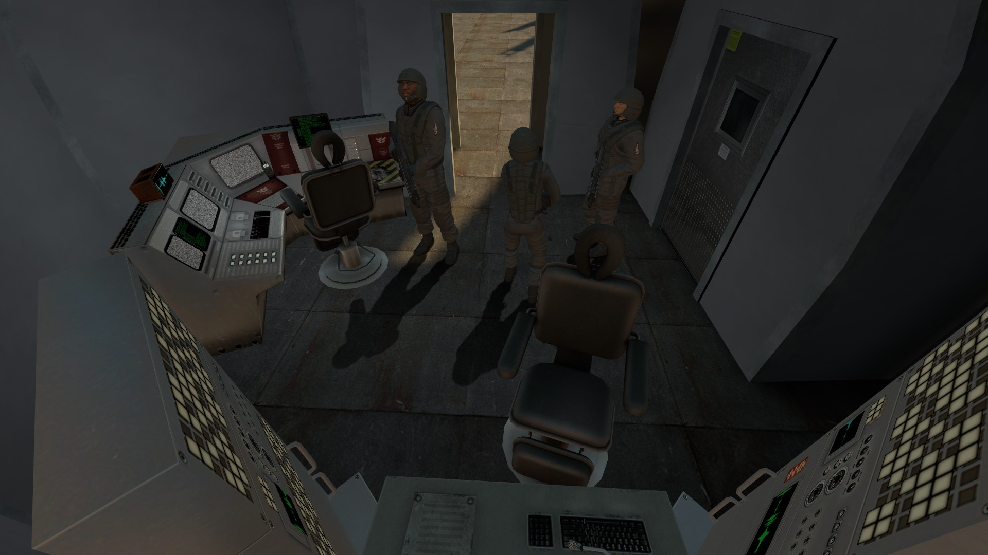 Comm Room Image L4d2 Starship Troopers Mod For Left 4