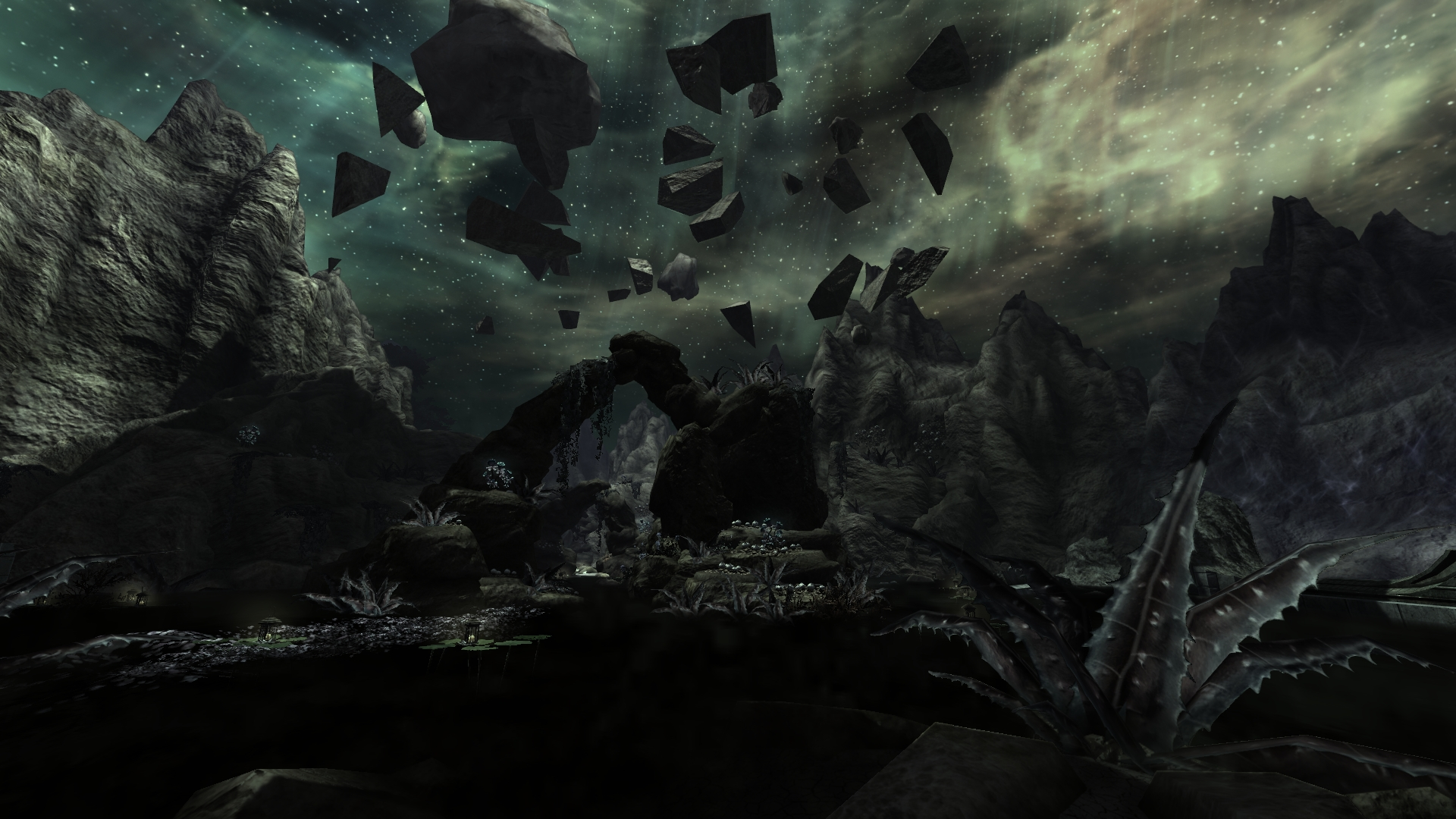 The Colored Rooms Meridia