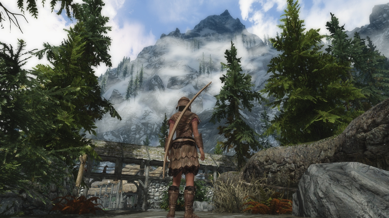 skyrim how to change mod settings