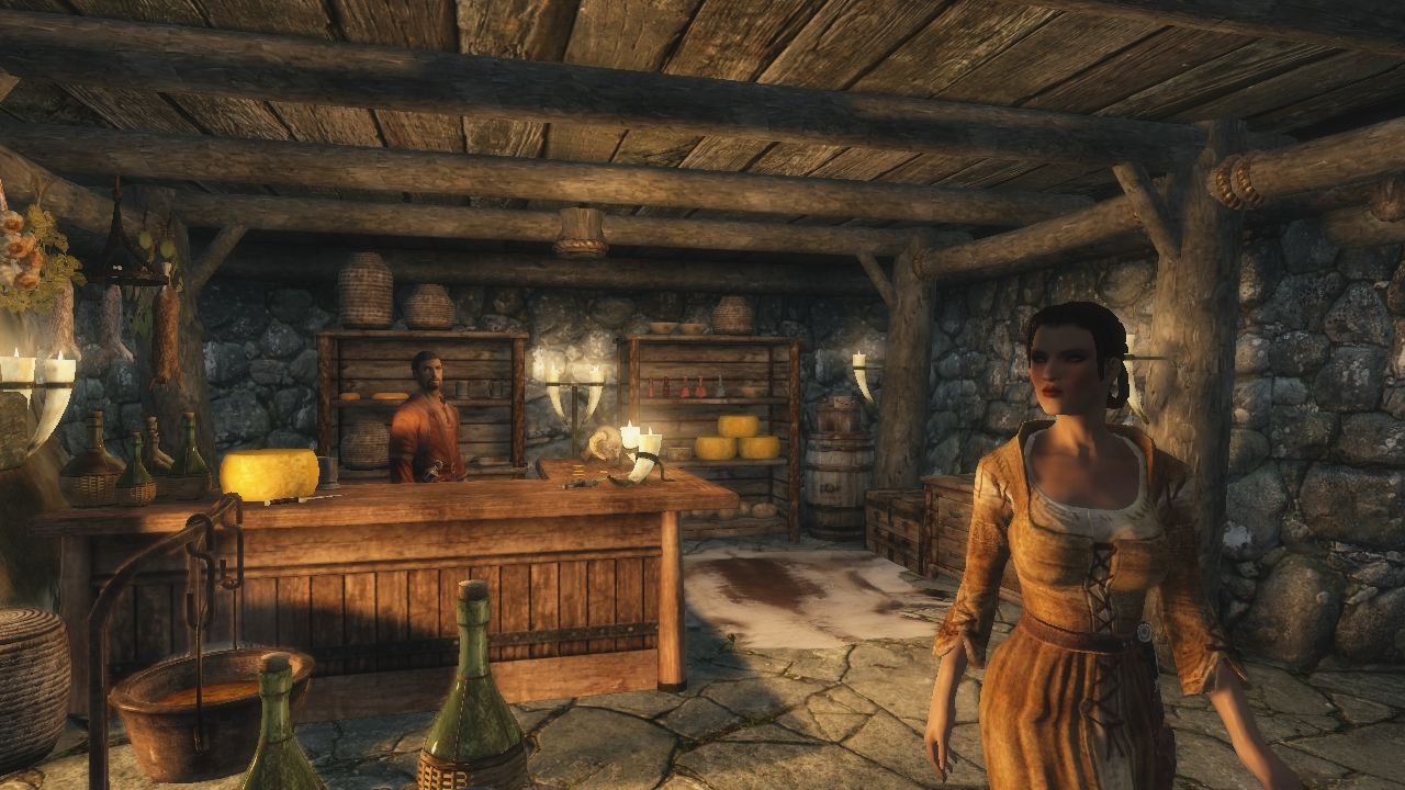 Image 5 - Just ENBSeries and SweetFX for Skyrim mod for Elder
