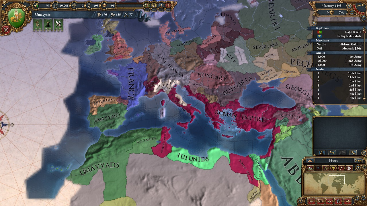 Extended Timeline Modification for Europa Universalis IV