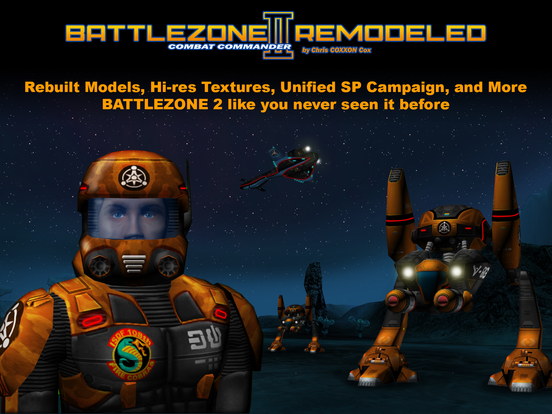 Battlezone ii remodeled mod db for Battlezone 2