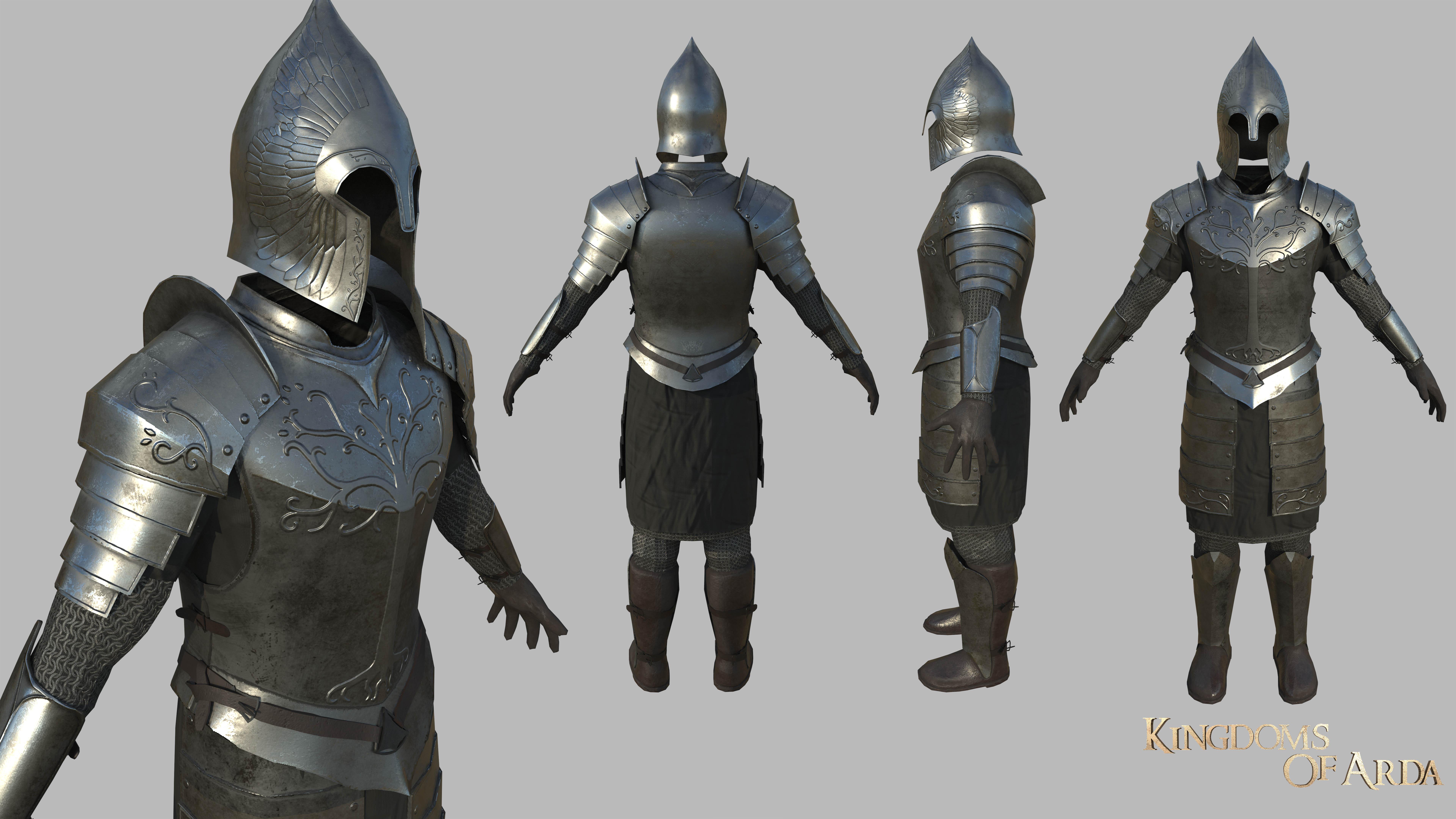gondorHeavyArmour image - Kingdoms of Arda mod for Mount ...  gondorHeavyArmo...